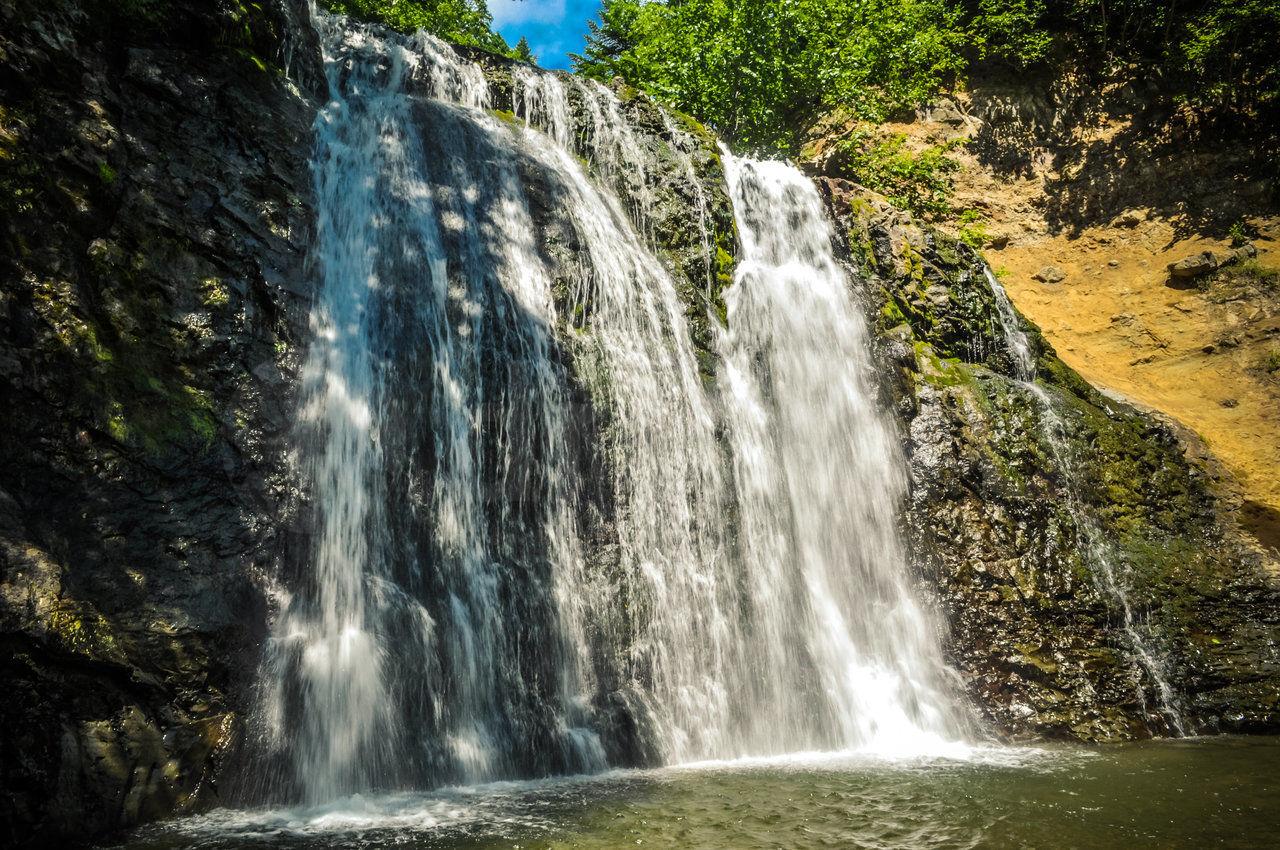 Алтай Черемшанский водопад