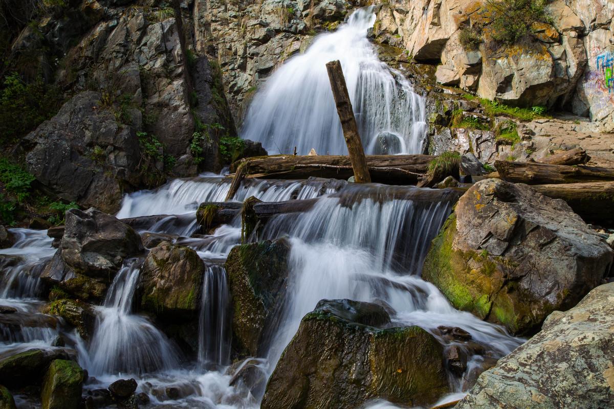 Алтай водопад Камышлинский