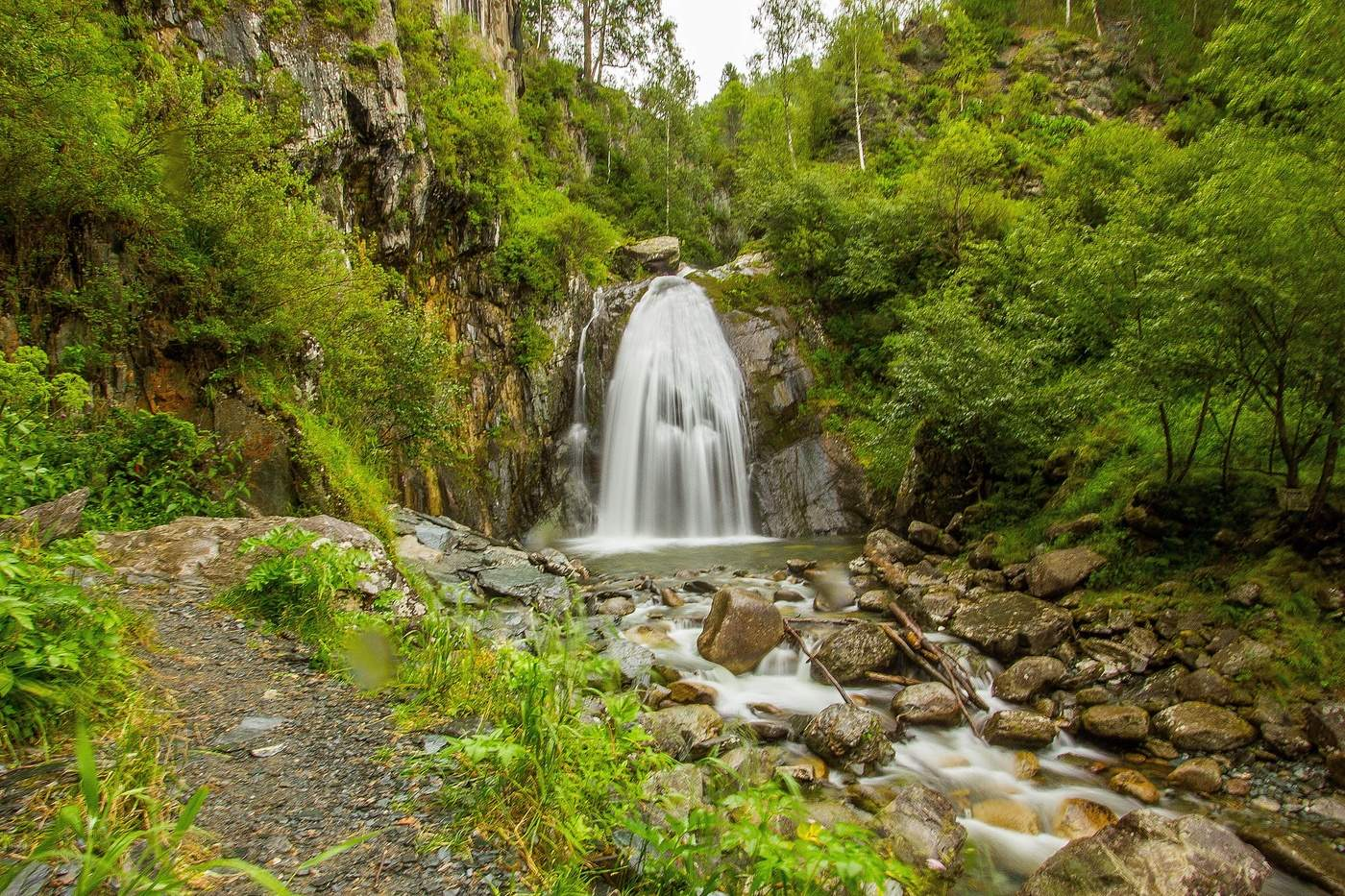Алтай водопад Корбу