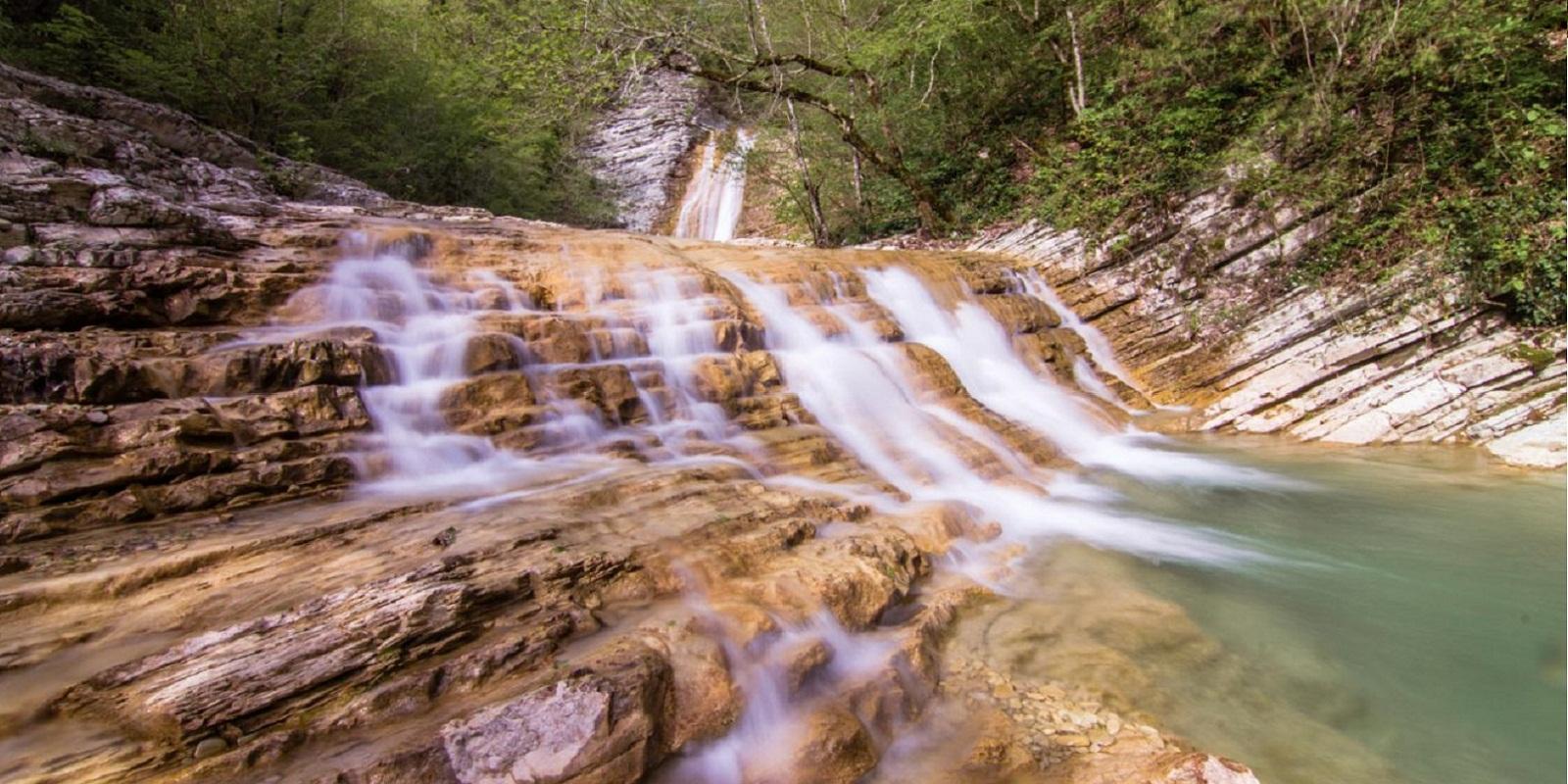 Водопады Краснодарского края Плесецкие