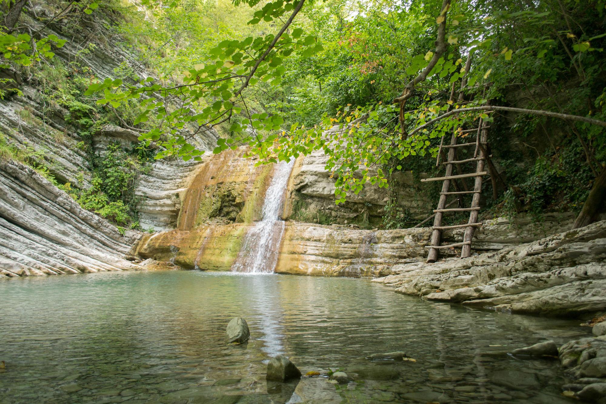 Водопады Краснодарского края Пшадские