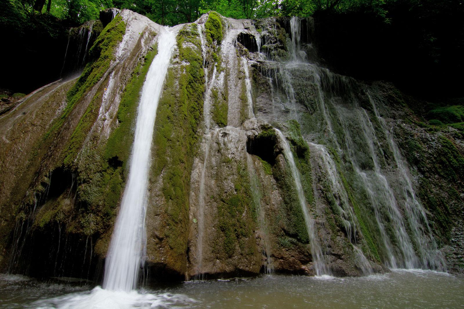 Водопады Краснодарского края каверзинский