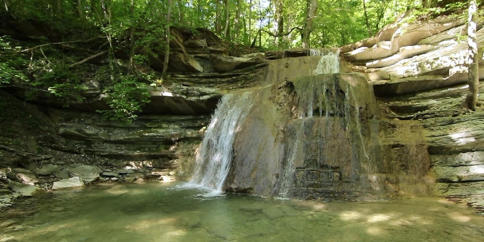 Водопады реки Жане Геленджик