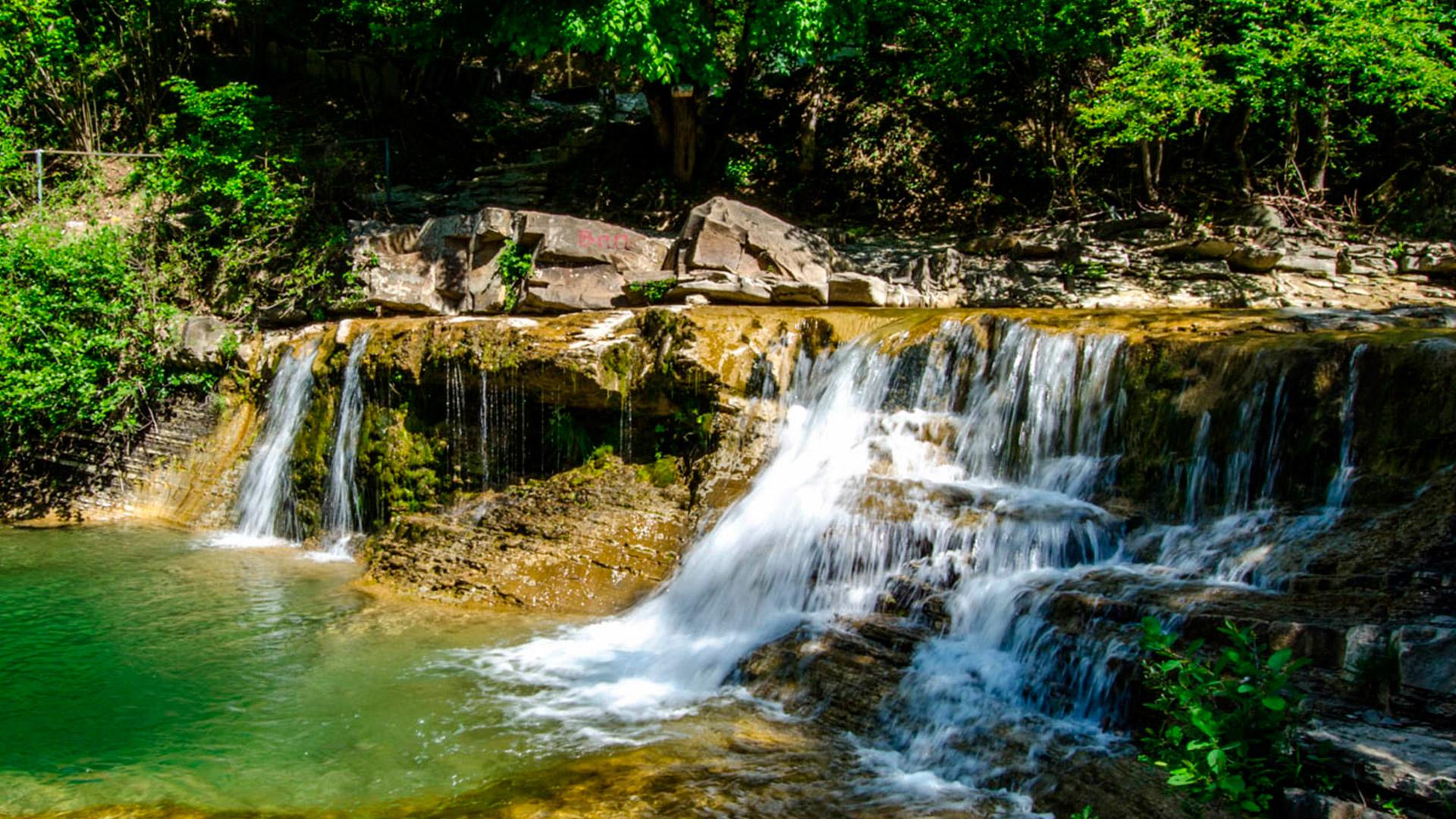 Фото водопада чаша любви под геленджиком сделать