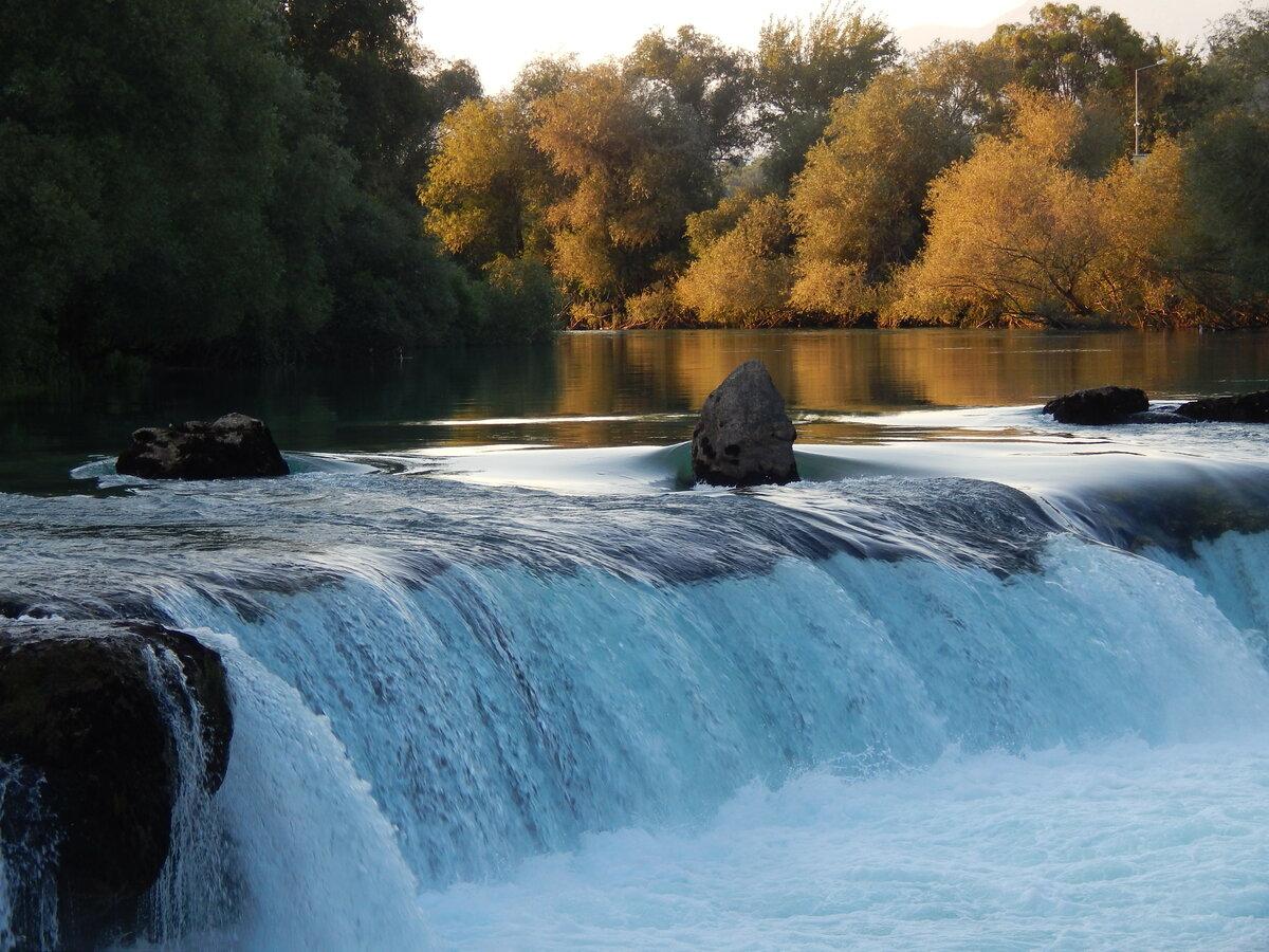 Водопад Манавгат природа