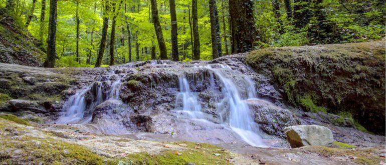 Каверзинские водопады Унивеситетский