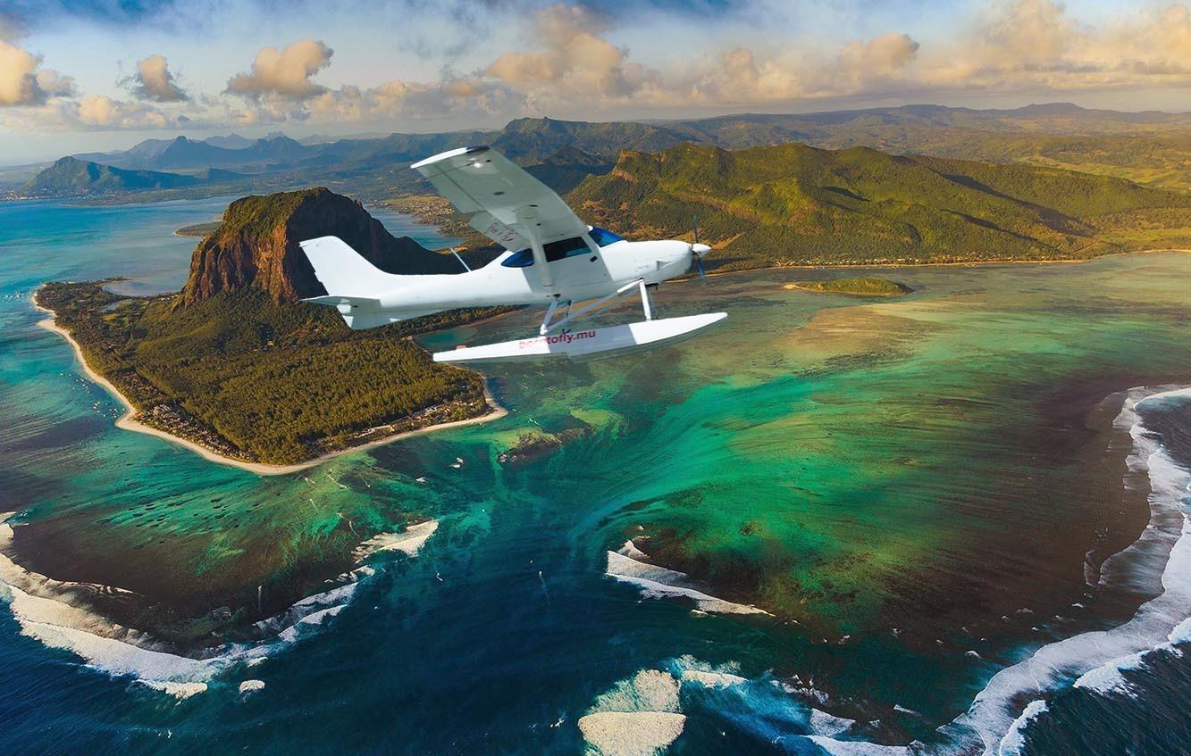 Подводный водопад на Маврикии экскурсия