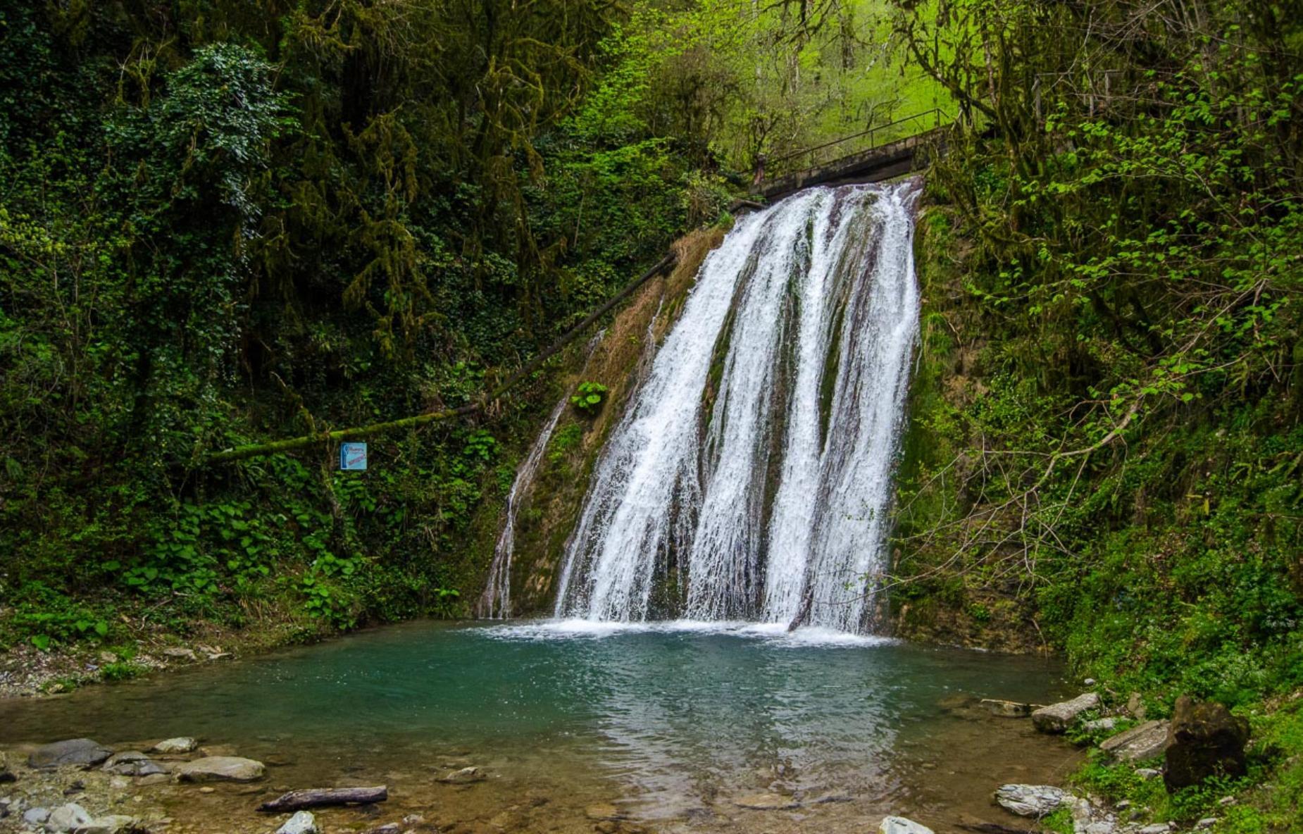Сочи 33 водопада Лазаревское