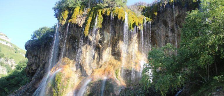 Царские водопады панорама