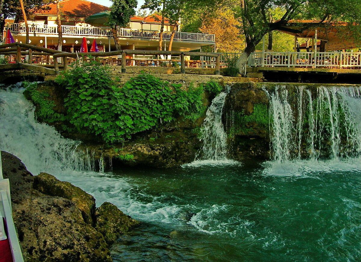 Водопад Манавгат смотровые площадки