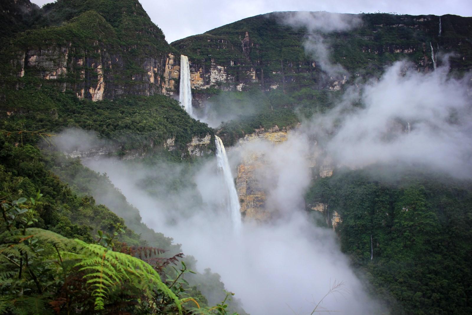Водопад Гокта Перу