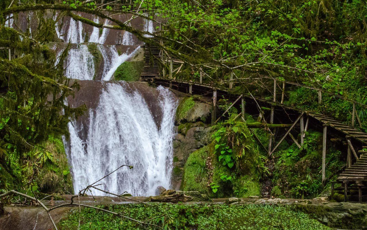 ЗЗ водопада Сочи