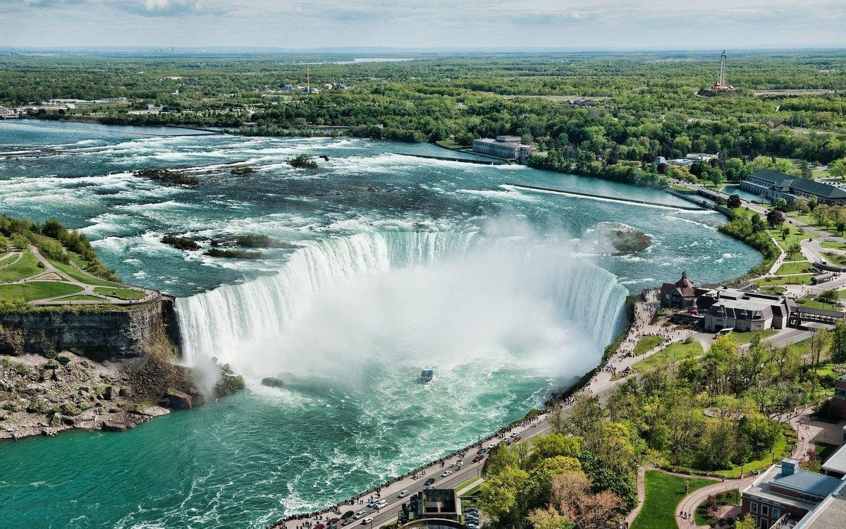 Ниагарский водопад вид