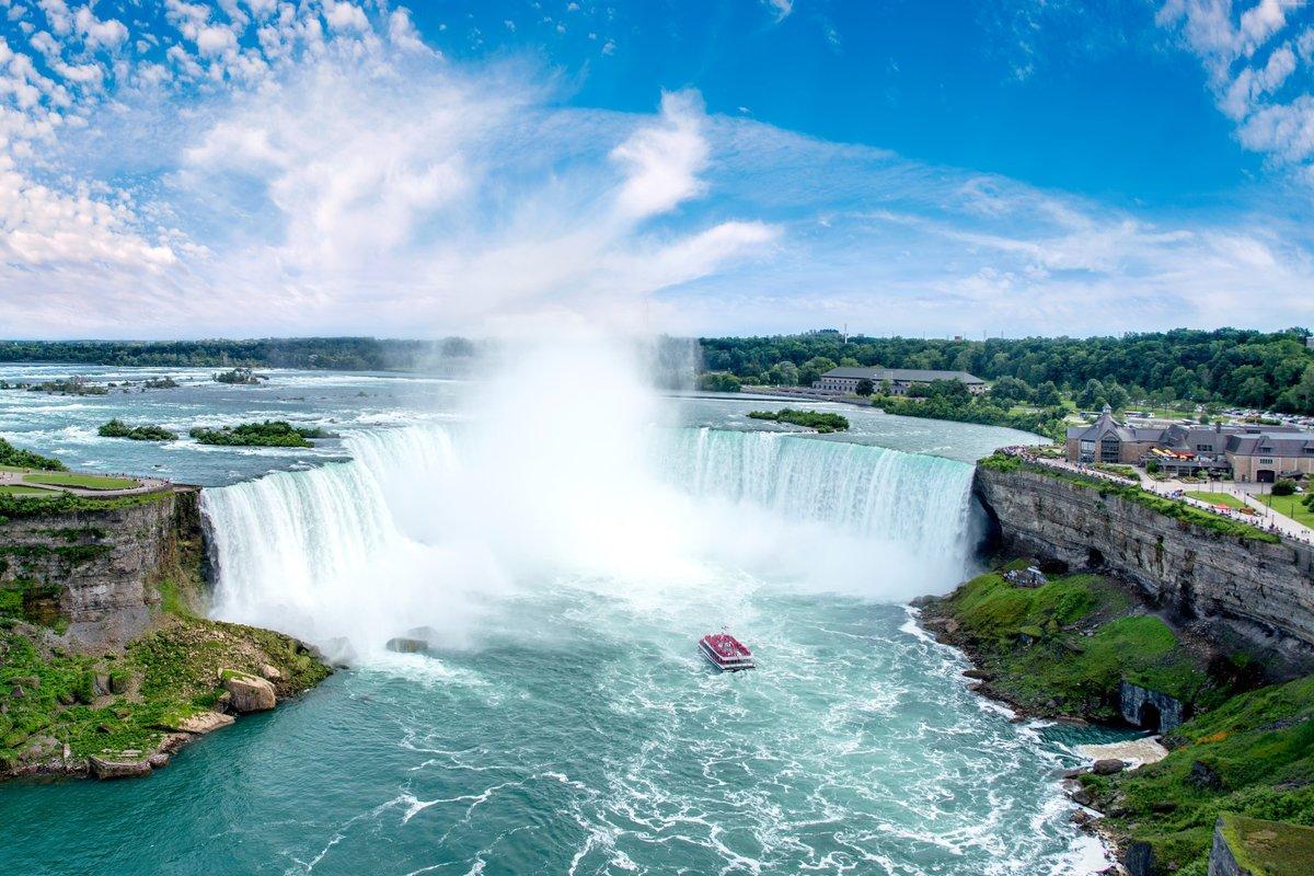 Ниагарский водопад лодка