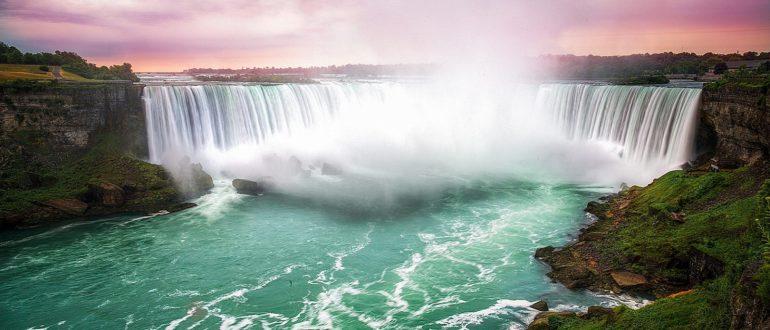 Ниагарский водопад панорама