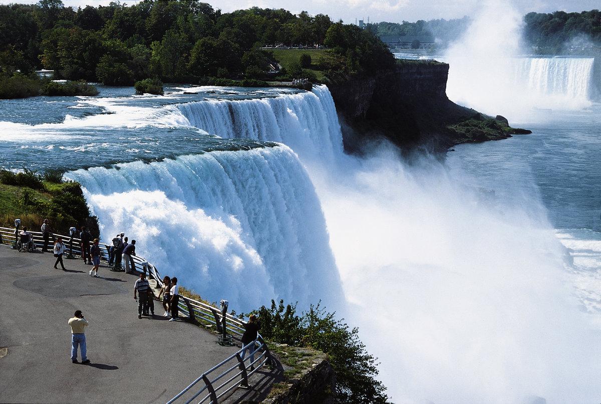 Ниагарский водопад смотровая площадка