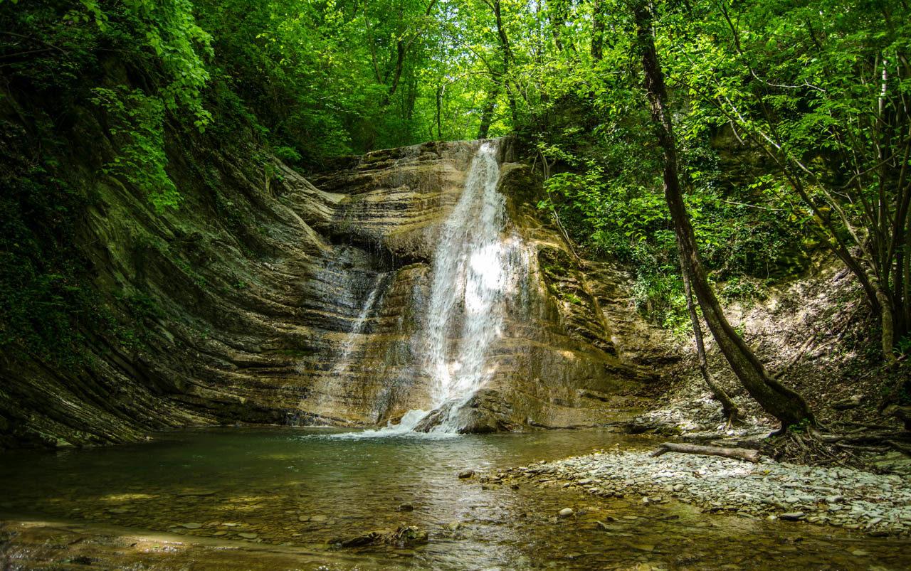 Пшадские водопады Анапа