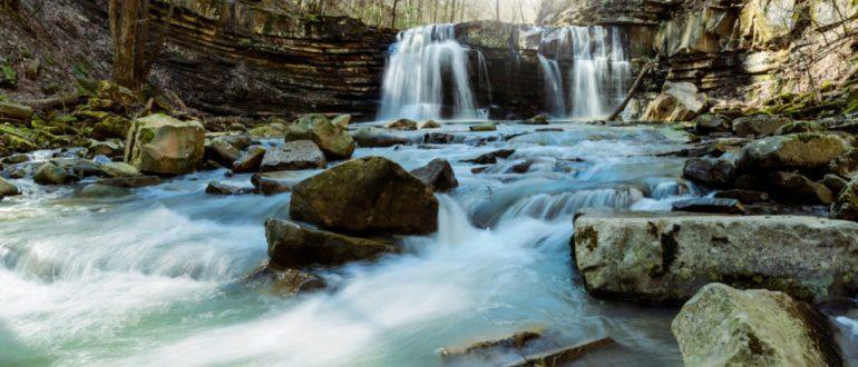 Пшадские водопады Оляпкин