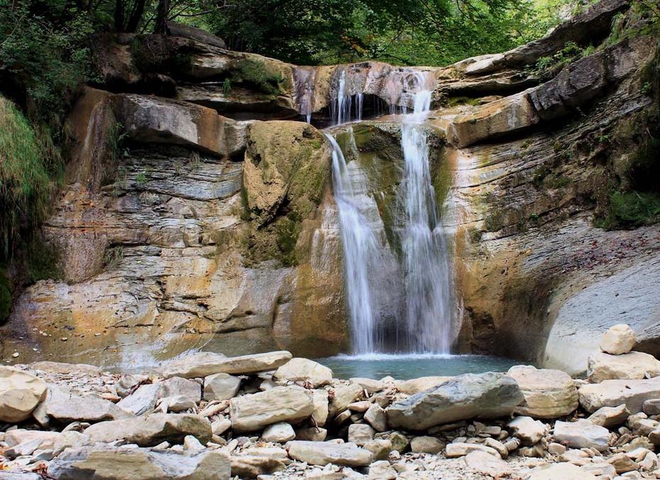 Пшадские водопады фото
