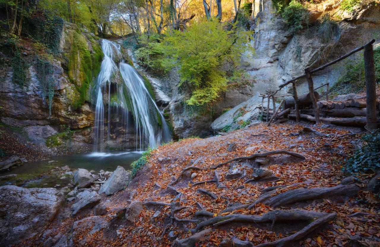 Водопад Джур-Джур в Крыму фото