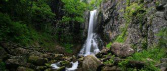 Еламовский (Беневской) водопад