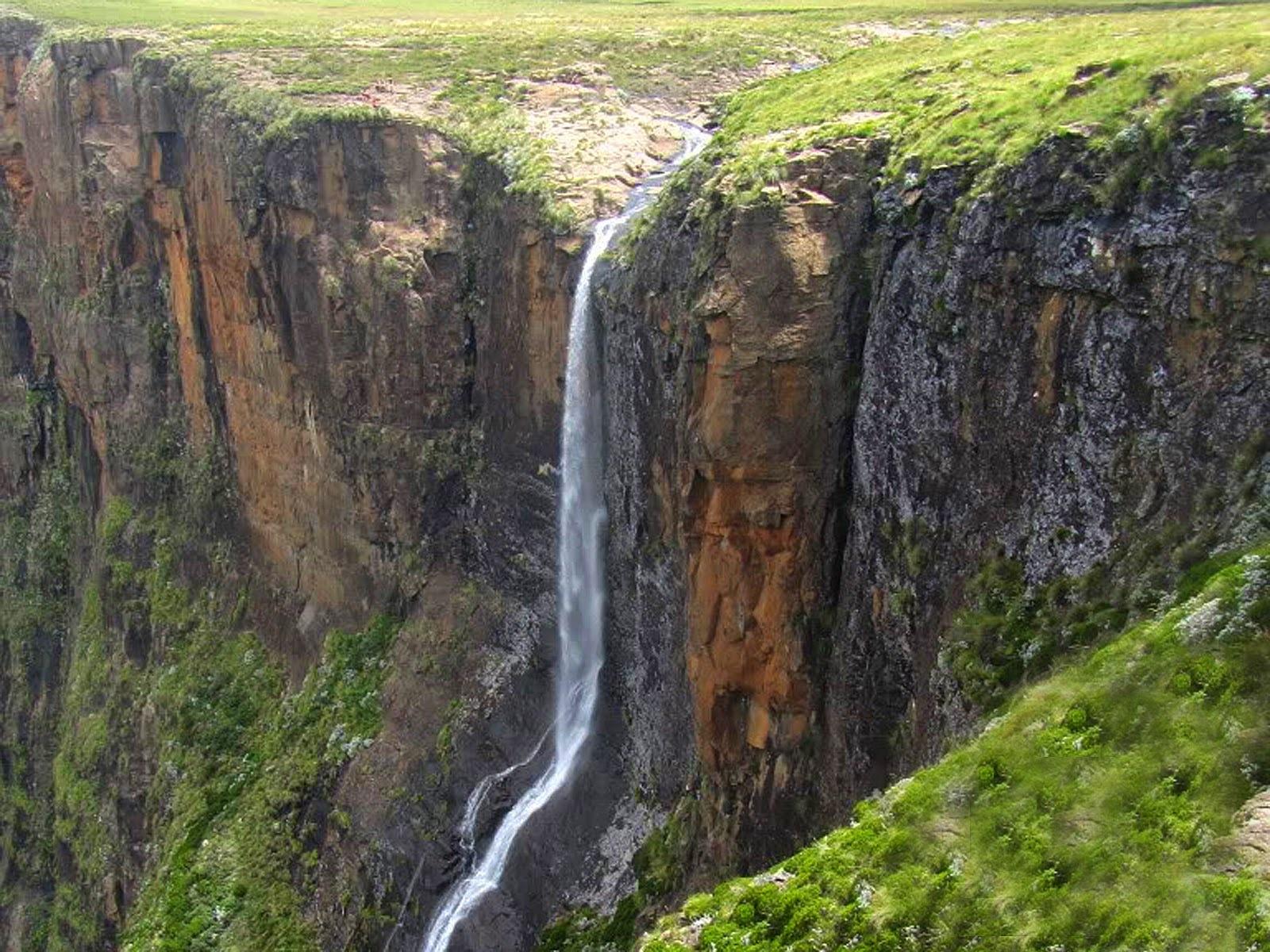 Водопады Африки Тугела