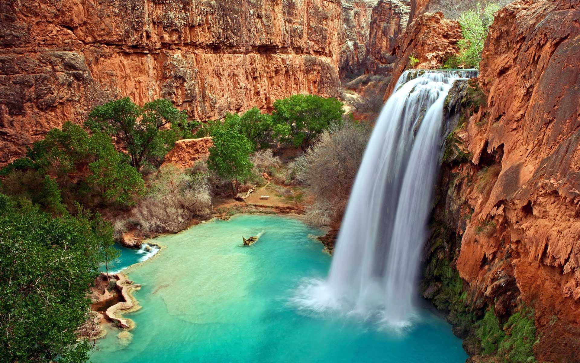 Водопад Хавасу Аризона США