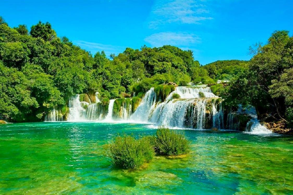 водопад Хорватия