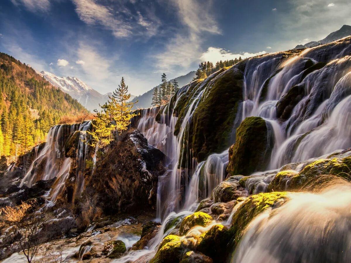 Чжэньчжутань водопад