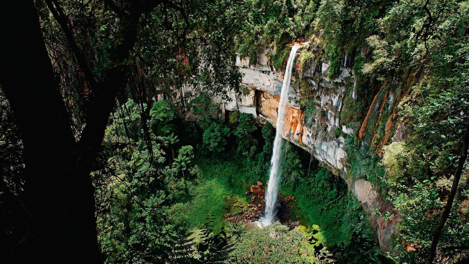 Юмбилья водопад