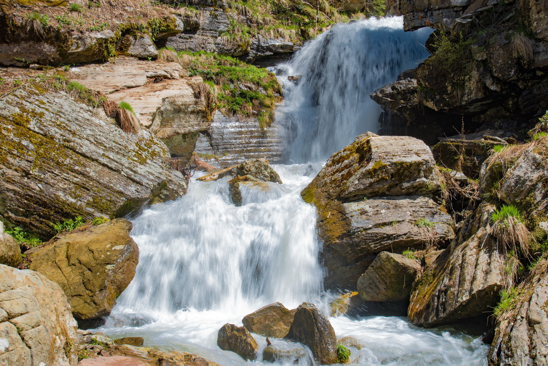 Водопады Менделиха Сочи