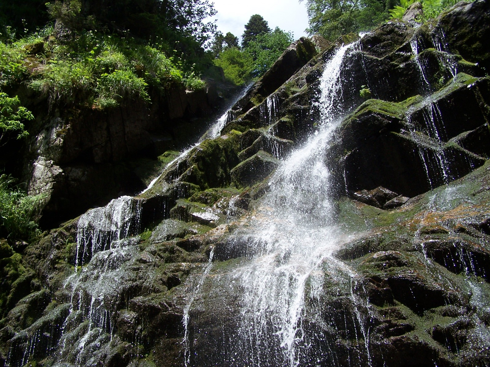 Водопады Менделиха парк