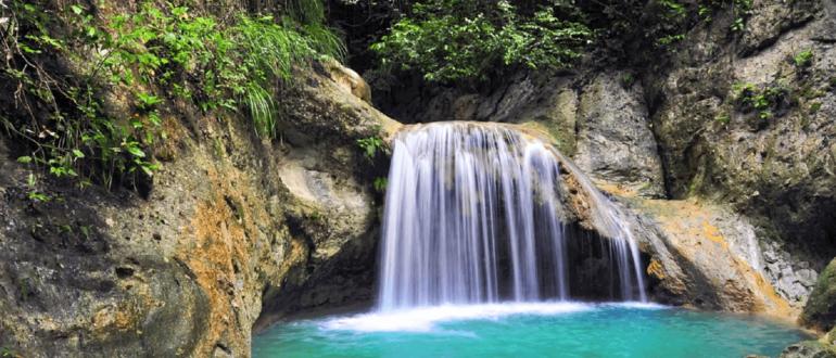 27 водопадов Дамахагуа Доминикана маленький