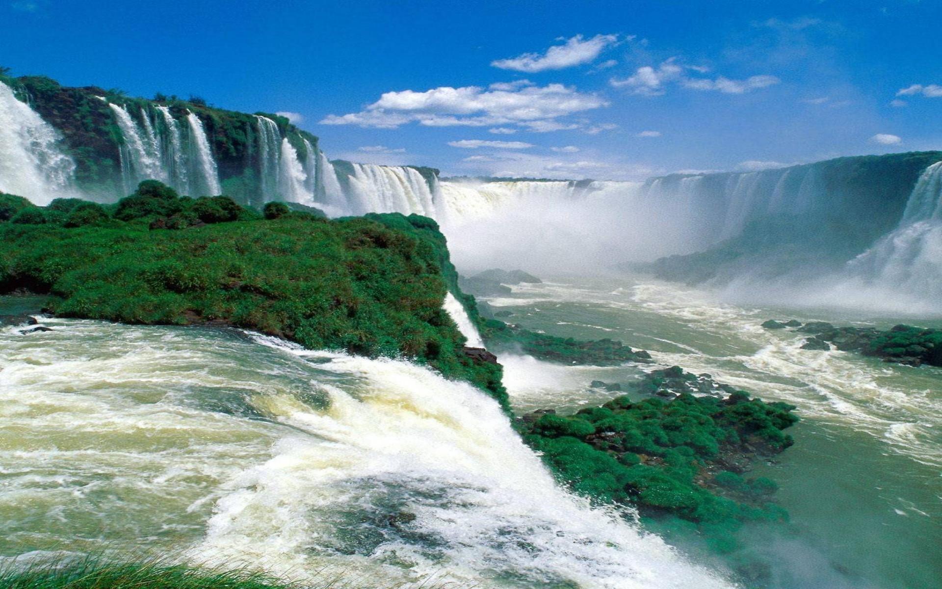 Водопады Игуасу Бразилия