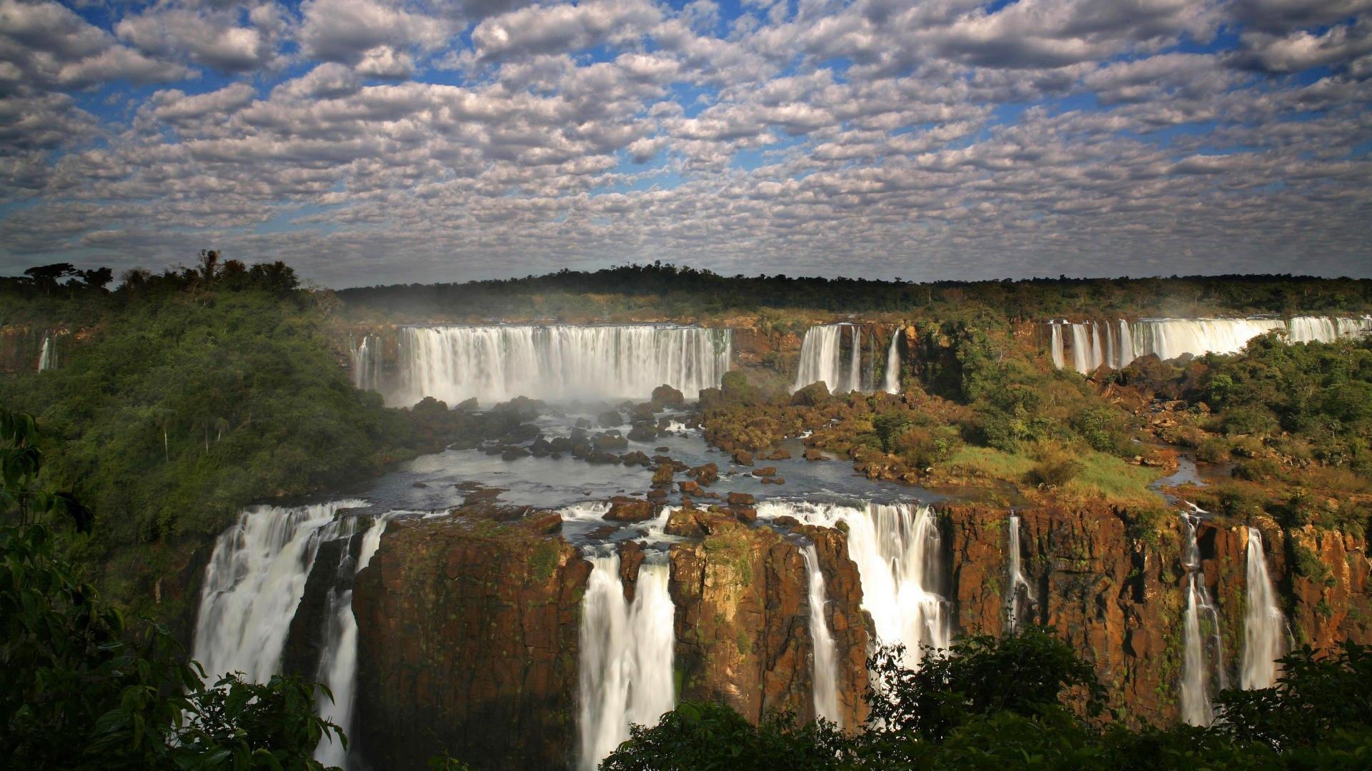 Водопады Игуасу панорама