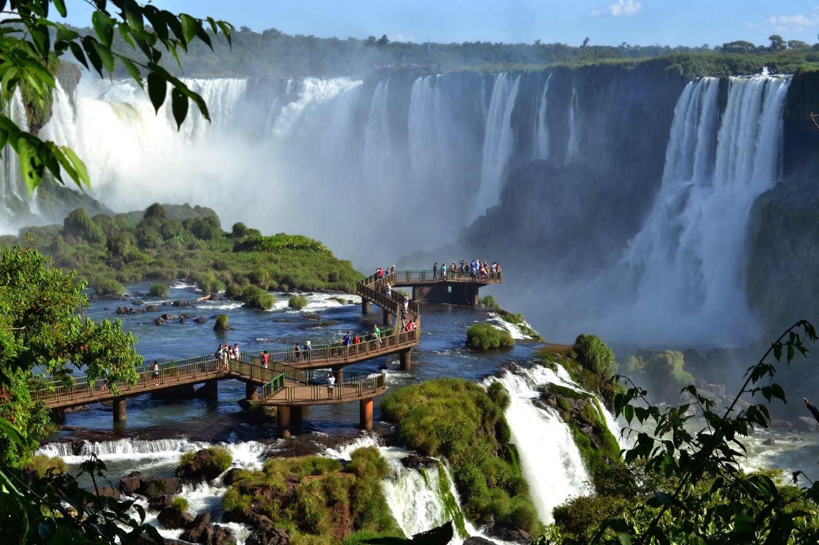 Водопады Игуасу смотровая площадка вид