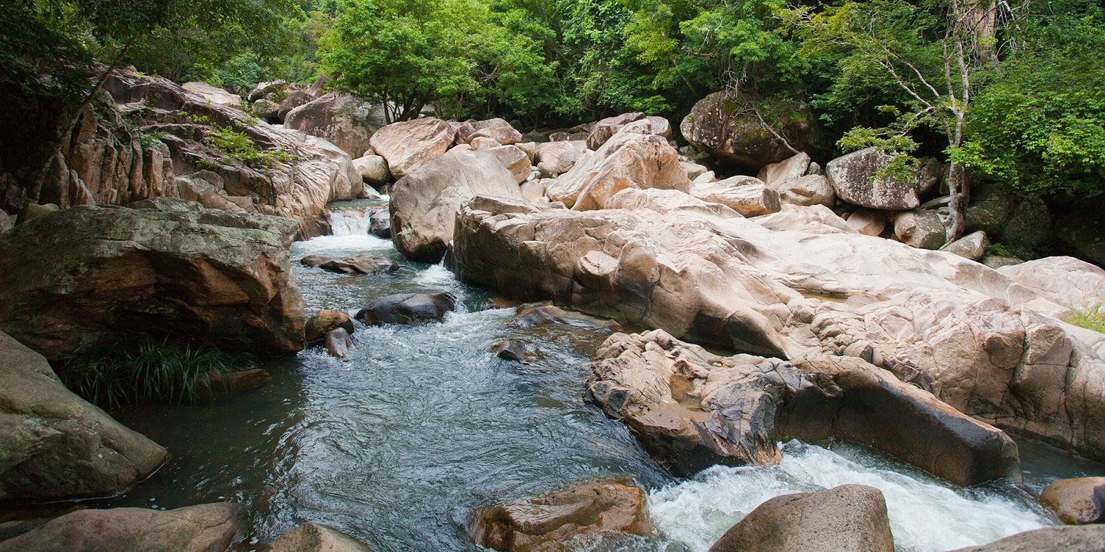 Водопад Бахо первый