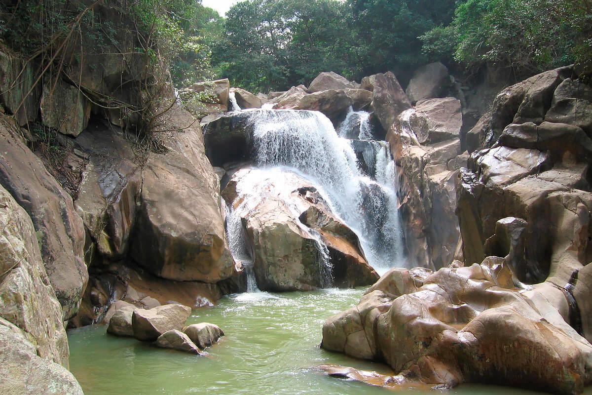 Водопад Бахо фото