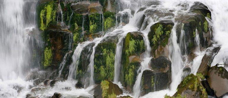 сегментированный водопад фото