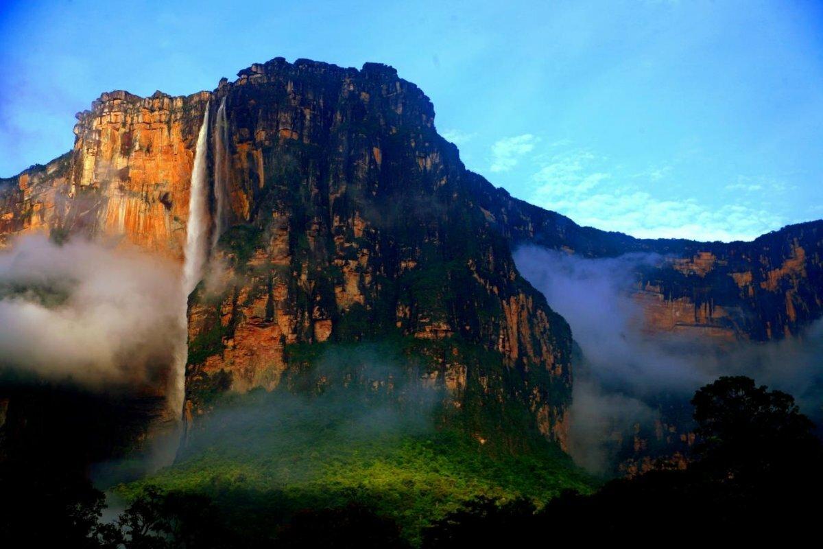 постоянно самый высокий водопад в мире фото подойдет для