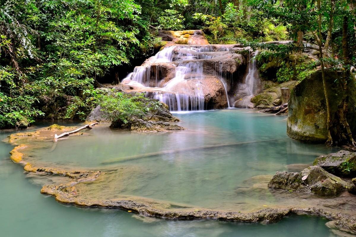 тайский водопад эраван