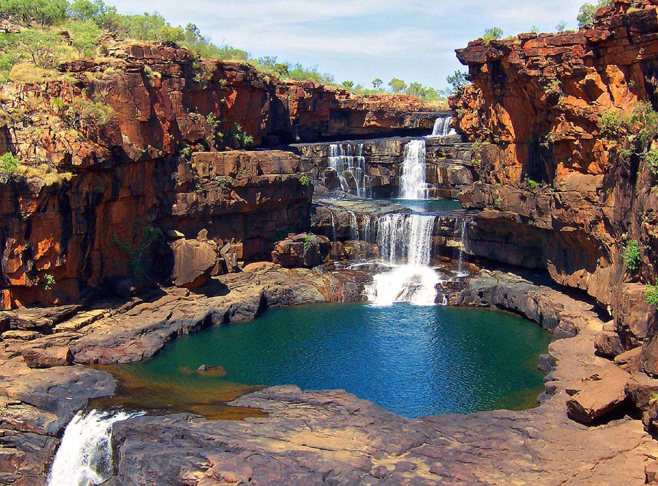 Водопад Митчелл Австралия