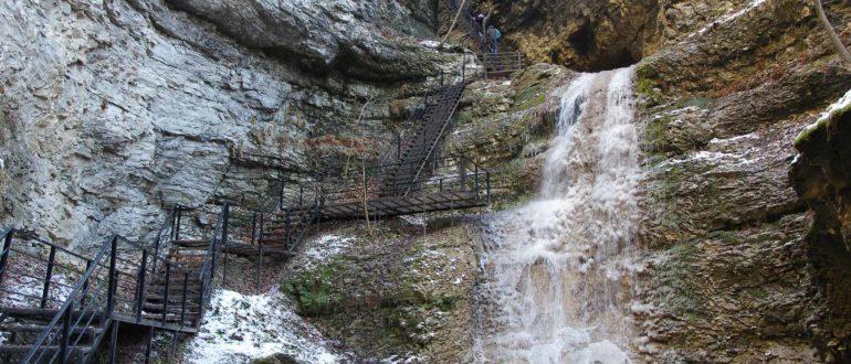 Нихалоевские водопады