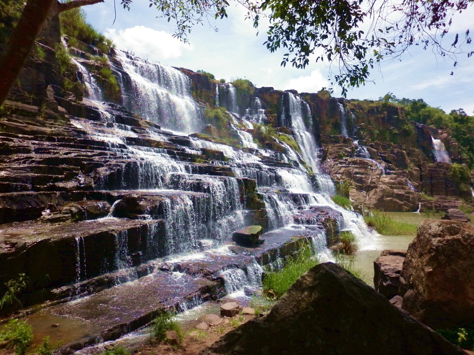 Водопад Пангур во Вьетнаме