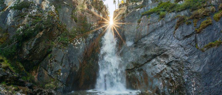 Каскад водопадов Шинок