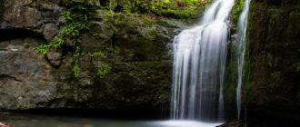 Кравцовские водопады Приморского края