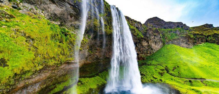 Seljalandsfoss Исландия