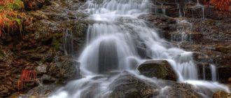 Беловский водопад в Новосибирске