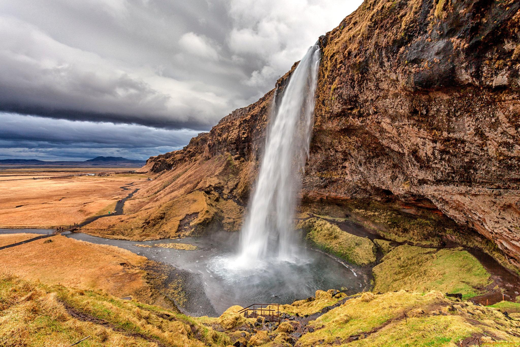 Исландские водопады