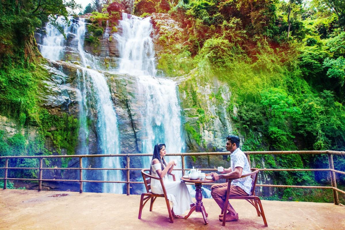 Как добраться до водопада Равана